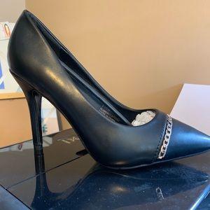 Versace Abbigliamento Aria leather pumps GORGEOUS